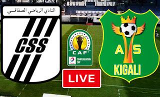 Live Stream Match CS Sfaxien VS AS Kigali