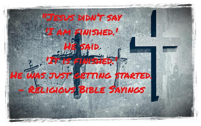 Religious Bible Sayings