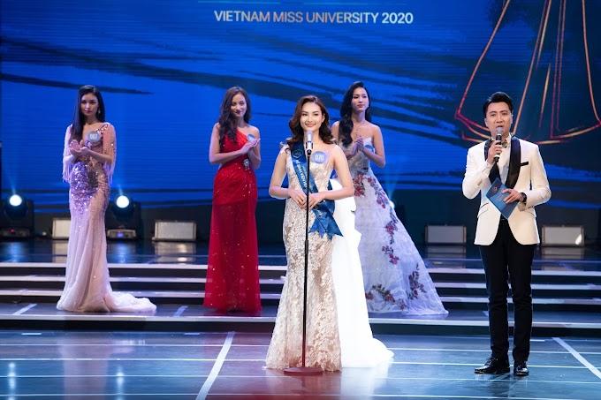 Nữ sinh Sài Gòn đoạt giải Á khôi 1 cuộc thi Hoa khôi Sinh viên VN 2020