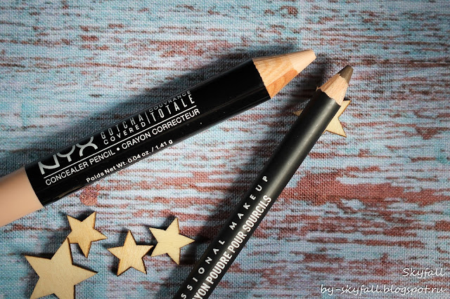 Карандаш для бровей NYX Eyebrow Powder Pencil EPP08 Ash Brown, отзывы