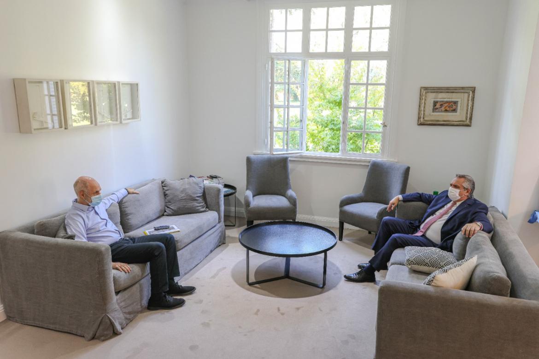 Rodríguez Larreta está reunido con Alberto Fernández en Olivos: habrá anuncios tras la reunión