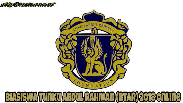 Permohonan Biasiswa Tunku Abdul Rahman (BTAR) 2021 Online