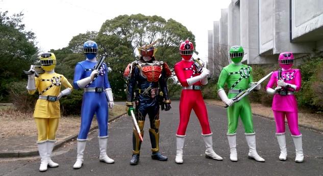 Tokutube - Filme ToQGer VS Kamen Rider Gaim