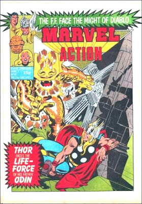 Marvel Action #10, Thor vs The Odin Force