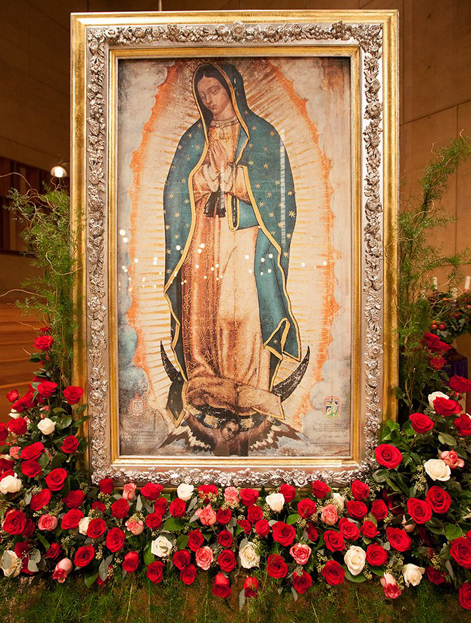 Our lady of guadalupe patroness
