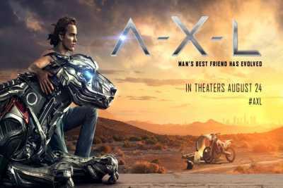 A-X-L 2018 Movie Hindi 300MB Dual Audio 480p Download BluRay