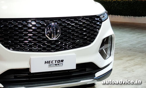 MG Hector Plus on-road price