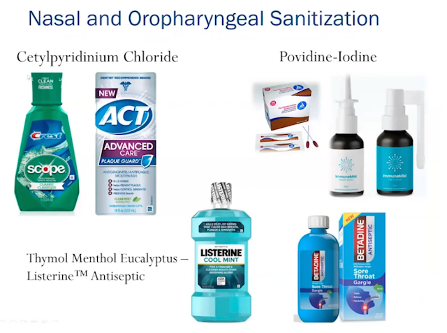 mouthwash for COVID-19