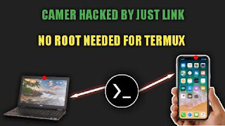 hack camera from link in termux