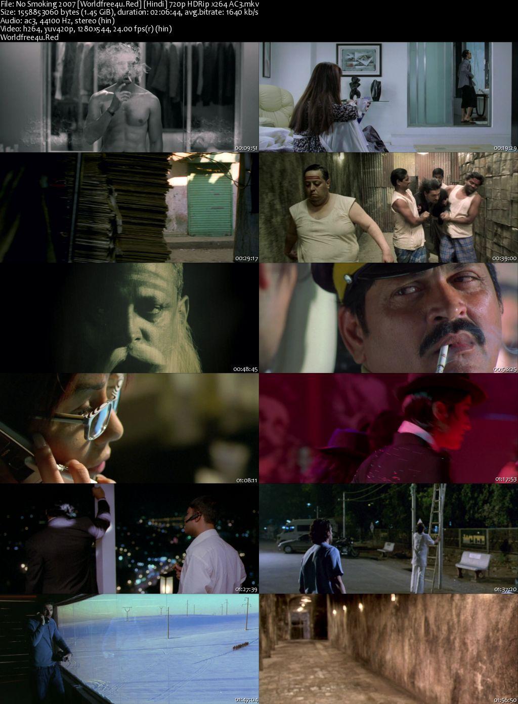 No Smoking 2007 Hindi HDRip 720p