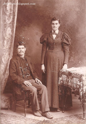 Possibly Leanna Jollett Knight and James Mitchell Knight Greene County, Virginia