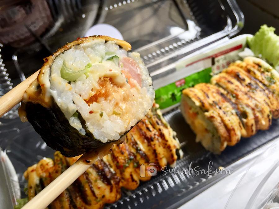 Sedapnya Oh! Sushi! - Homemade Sushi di Johor Bahru