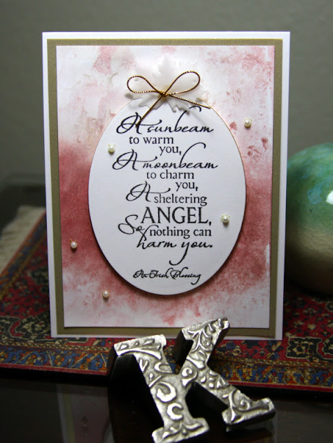 ODBD Sheltering Angel, ODBD Customer Card of the Day Created by Kathy aka CAKath