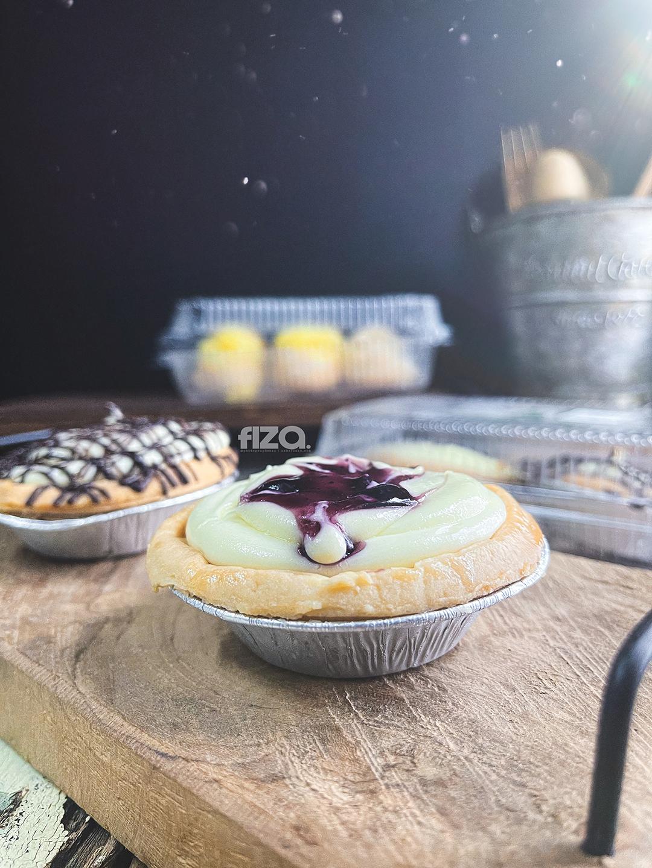 Blueberry Cheesetart Baker's Cottage