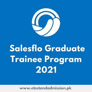 Salesflo Graduate Trainee Program 2021