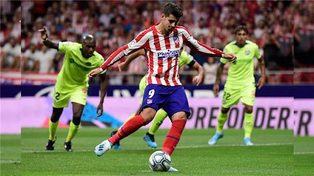 اهداف مباراه اتليتكو مدريد وايبار في الدوري الاسباني 1-9-2019