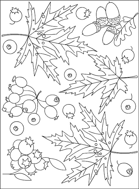 coloring autumn coloring page coloring pictures