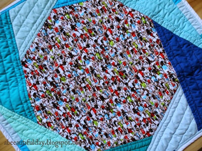 Pillow Cover Zippered Closure Tutorial-abeeautifulday.blogspot.com