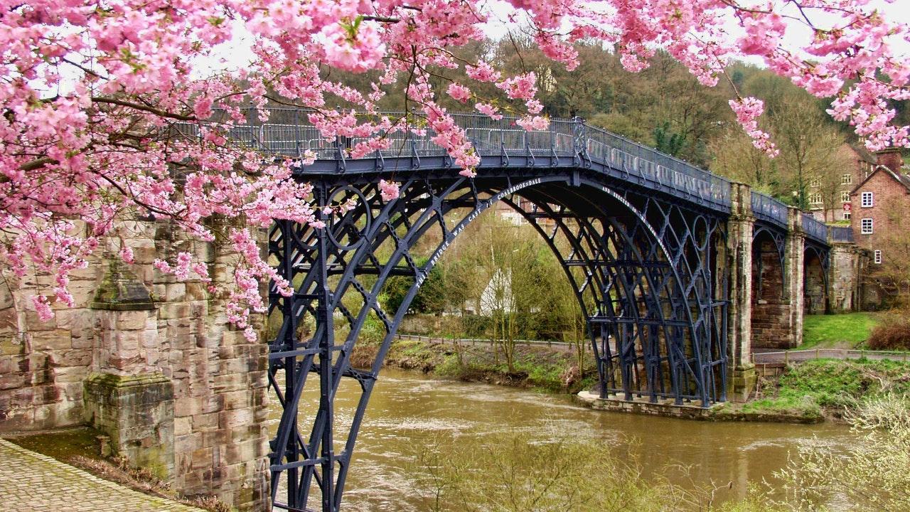 puentes de arquitectura de hierro
