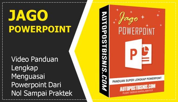Jago PowerPoint Lisensi Personal
