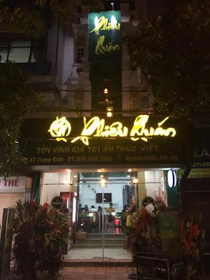 Nhà hàng Phiêu Quán - Hà Nội