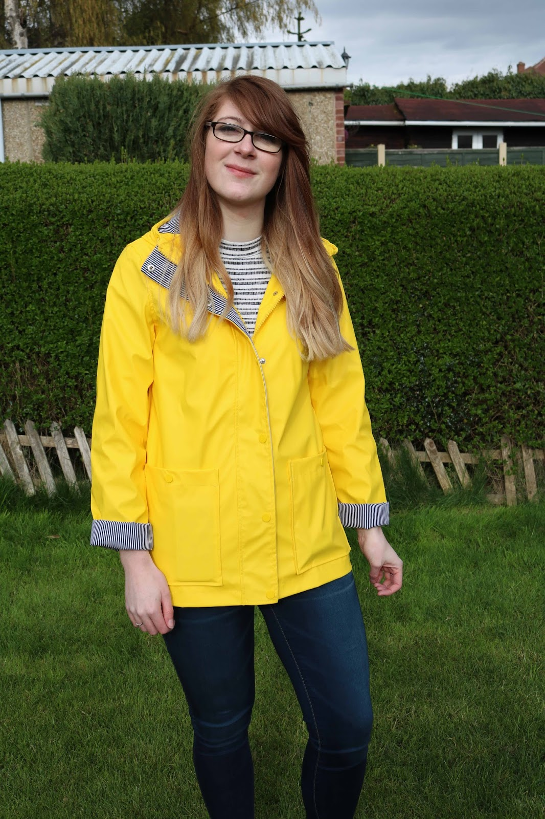 Yellow Raincoat Topshop