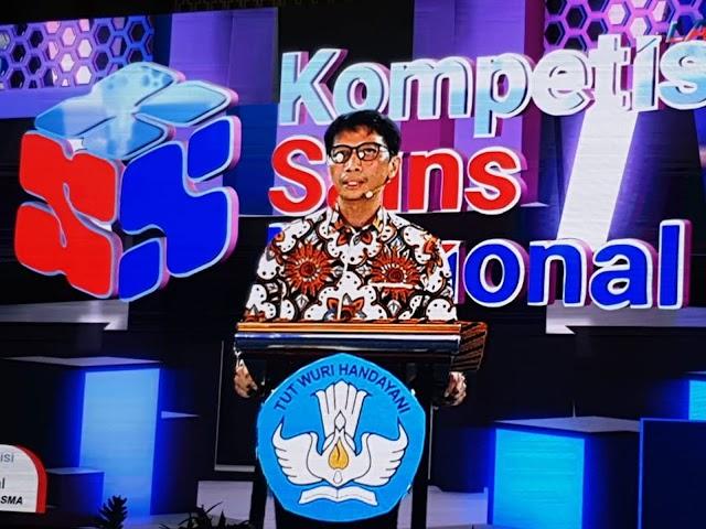 Penutupan Kompetisi Sains Nasional 2020, Jawa Barat Raih Urutan Ketiga Raihan Medali