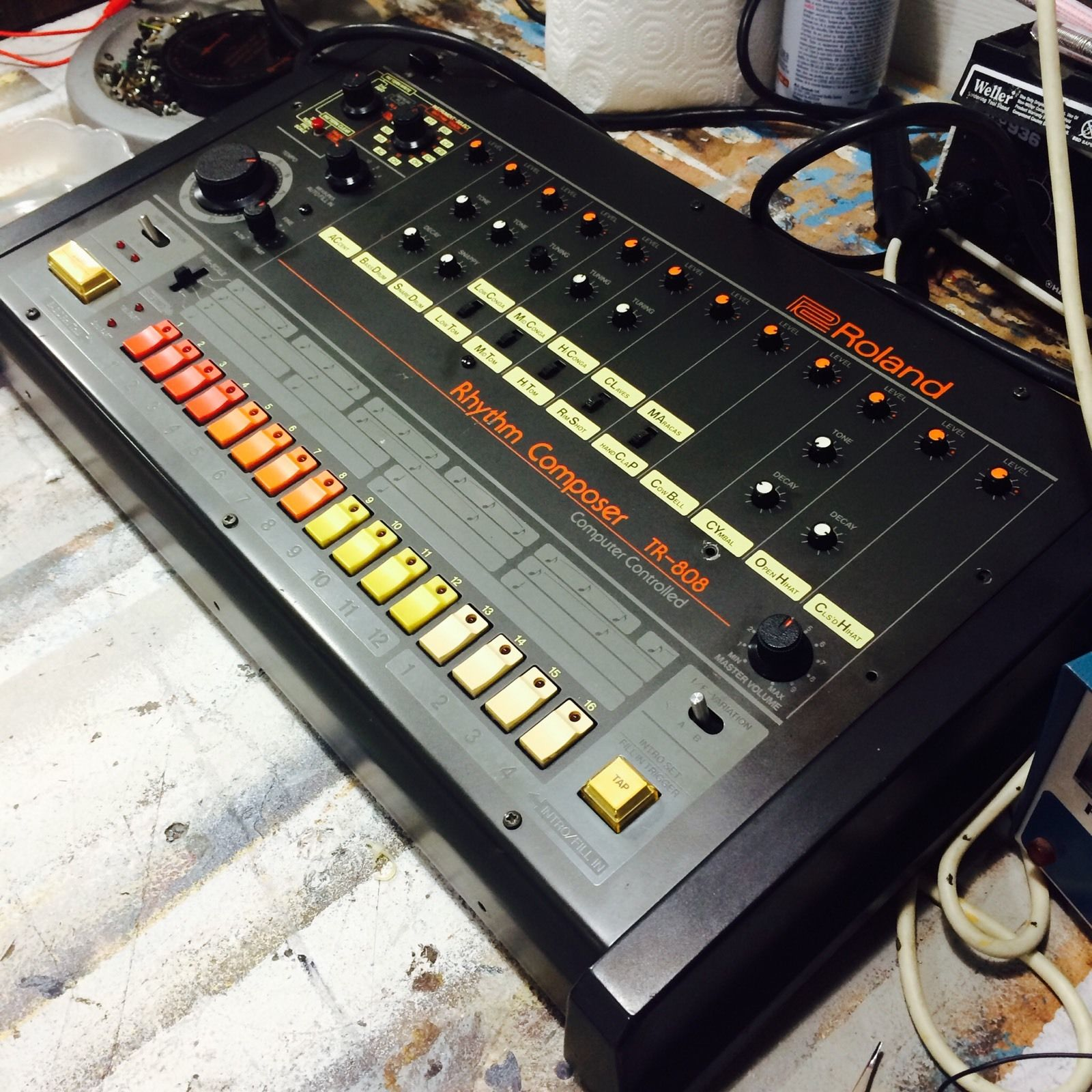 matrixsynth roland tr 808 analog drum machine. Black Bedroom Furniture Sets. Home Design Ideas