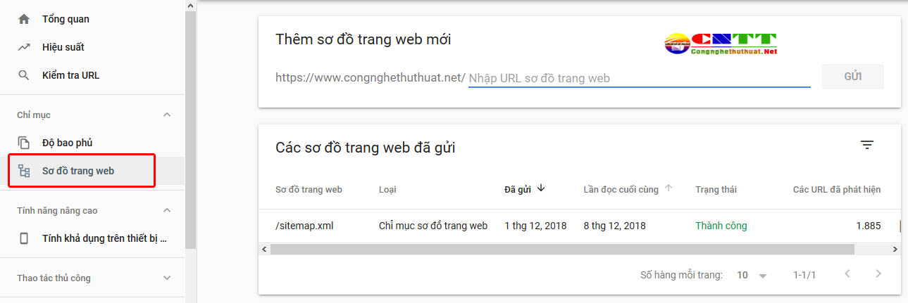 Một số thay đổi trong công cụ Google Search Console với giao diện mới