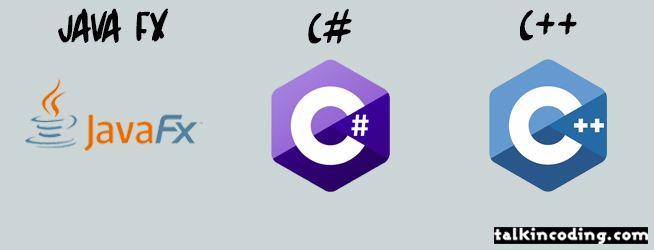 ++javafx c# c