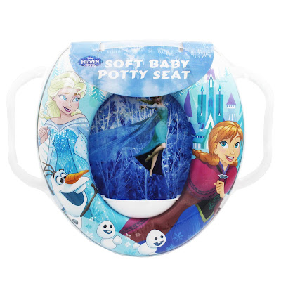 Potty Seat Cushioned Frozen