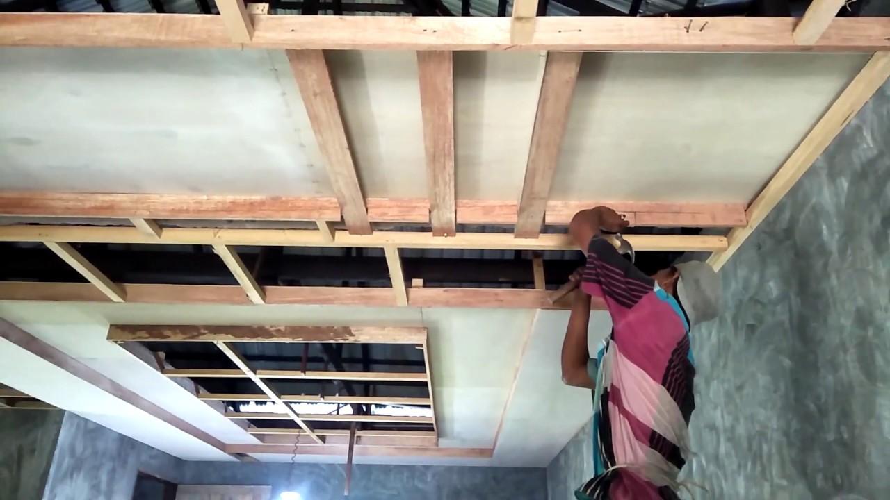 Cara Membuat Plafon Rumah Dari Triplek Tutorial Bangizaltoy Com Cara memasang plafon triplek