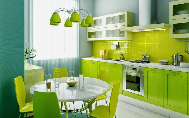 Inspirasi Rumah Modern Warna Hijau