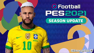 PES 2021 Faces Neymar Jr Copa America 2021 by Valentinlgs10