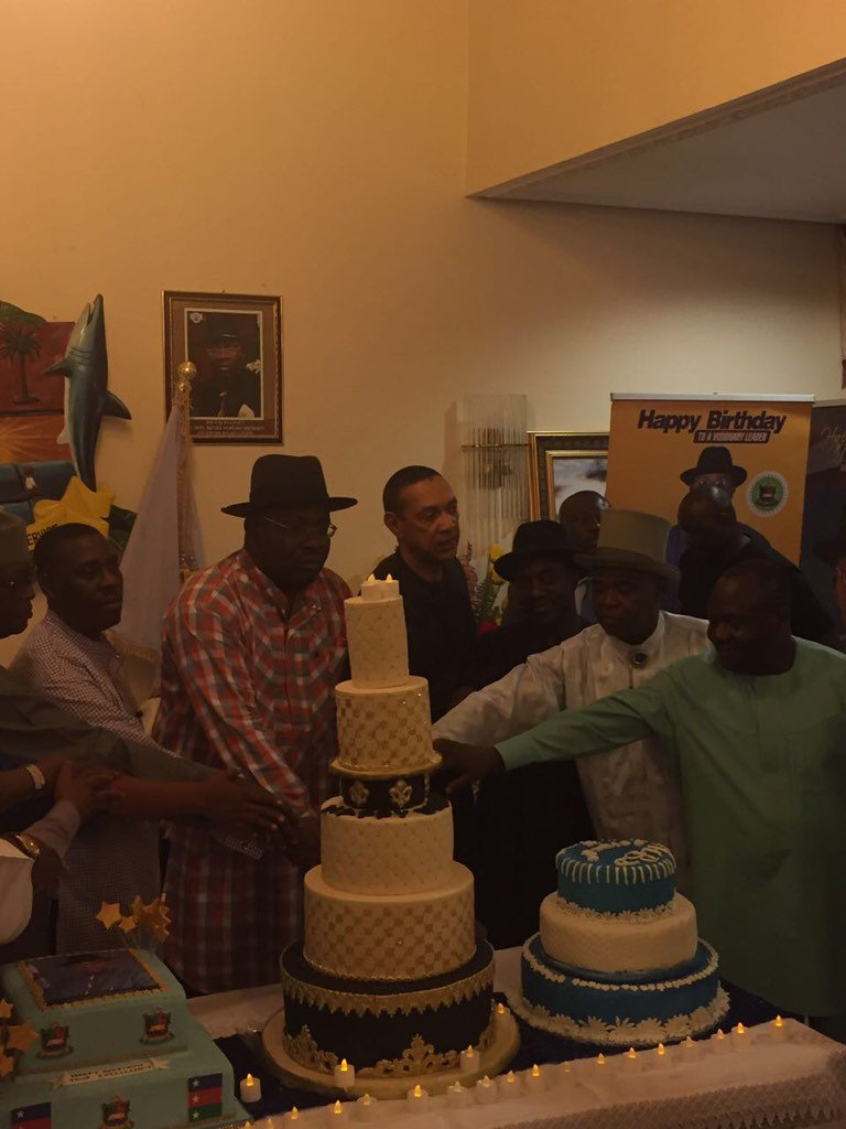 Seriake Dickson's 51st Birthday Party In Pictures