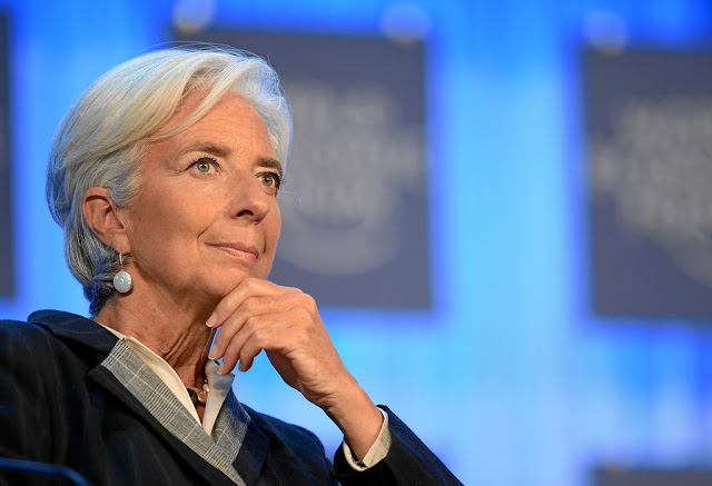Image Attribute: The file photo of Christine Lagarde by World Economic Forum (via Flickr)