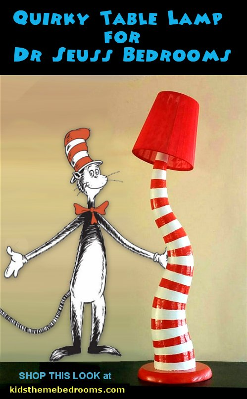 dr seuss table lamp dr seuss bedroom decor dr seuss bedroom decorating  Dr Seuss bedroom ideas - Dr.Suess bedroom decor - Dr Seuss Bedding - dr. seuss nursery  - decorating ideas  cat in the hat theme bedrooms -  Dr Seuss wall decal stickers - DR SEUSS wall mural decal - Dr. Suess playroom ideas - Dr. Seuss Plush Toys