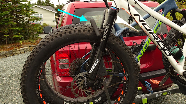Swagman Sitkka 2 Zero Frame Contact Fatbike Rack Review Hook