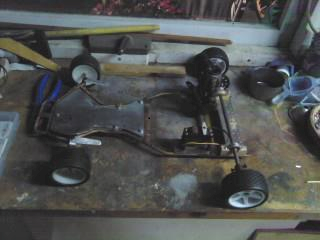 Ambitious Creation Projects: 1/3 scale RC Go-Kart