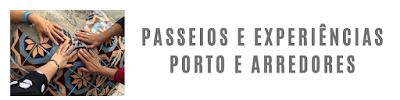 mãos à tocar azulejos em experiência no Porto