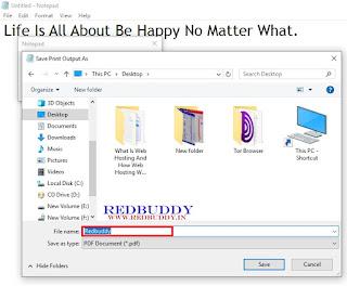 Create A PDF File: Step-3