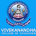 Vivekanandha College of Education Puducherry, Tamil Nadu Wanted Assistant Professors