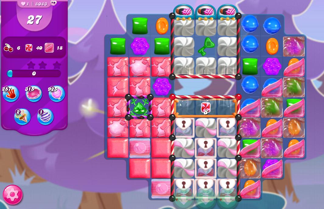 Candy Crush Saga level 8043
