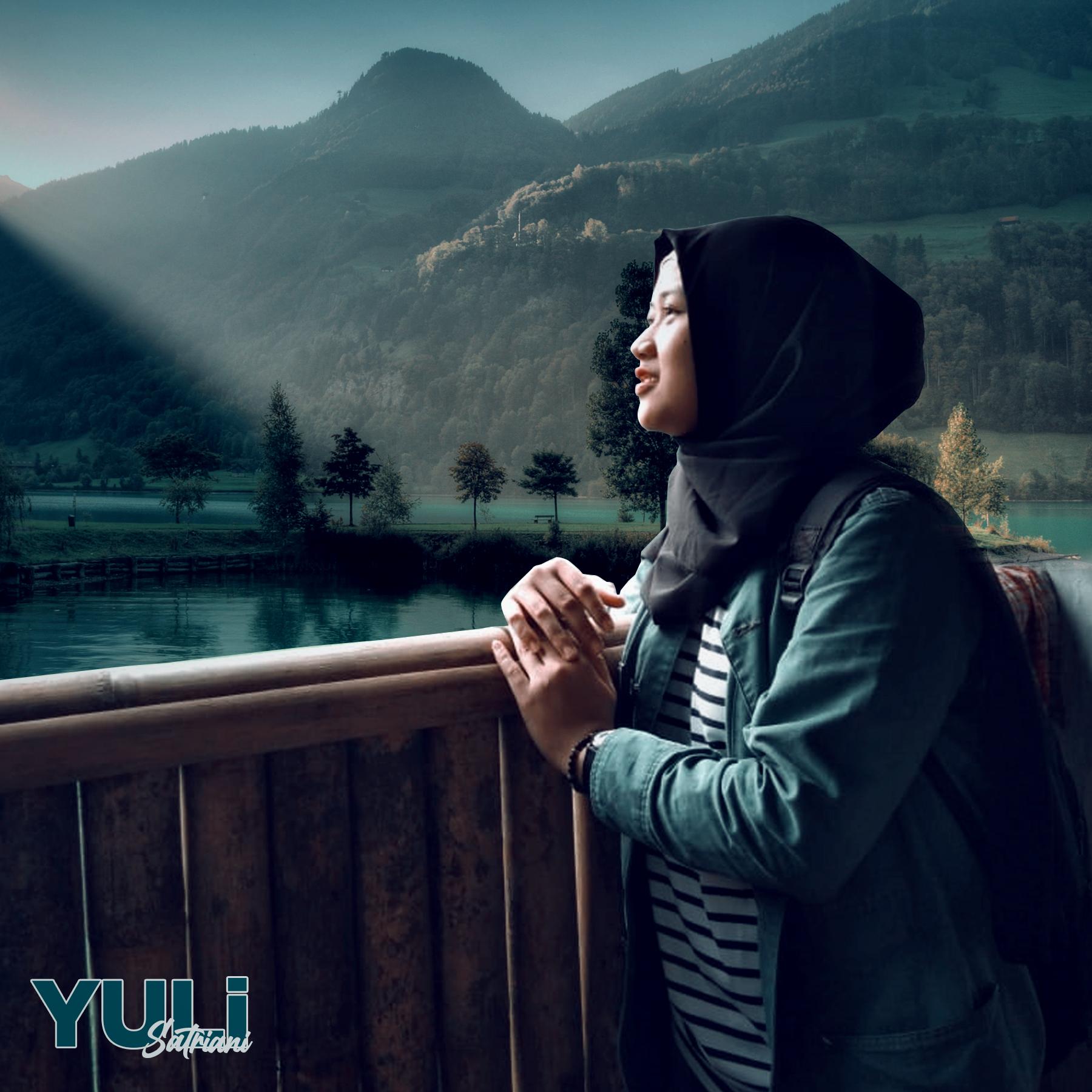 Yuli Satriani Wallpaper Gambar Gunung Galunggung Tasikmalaya Keren HD