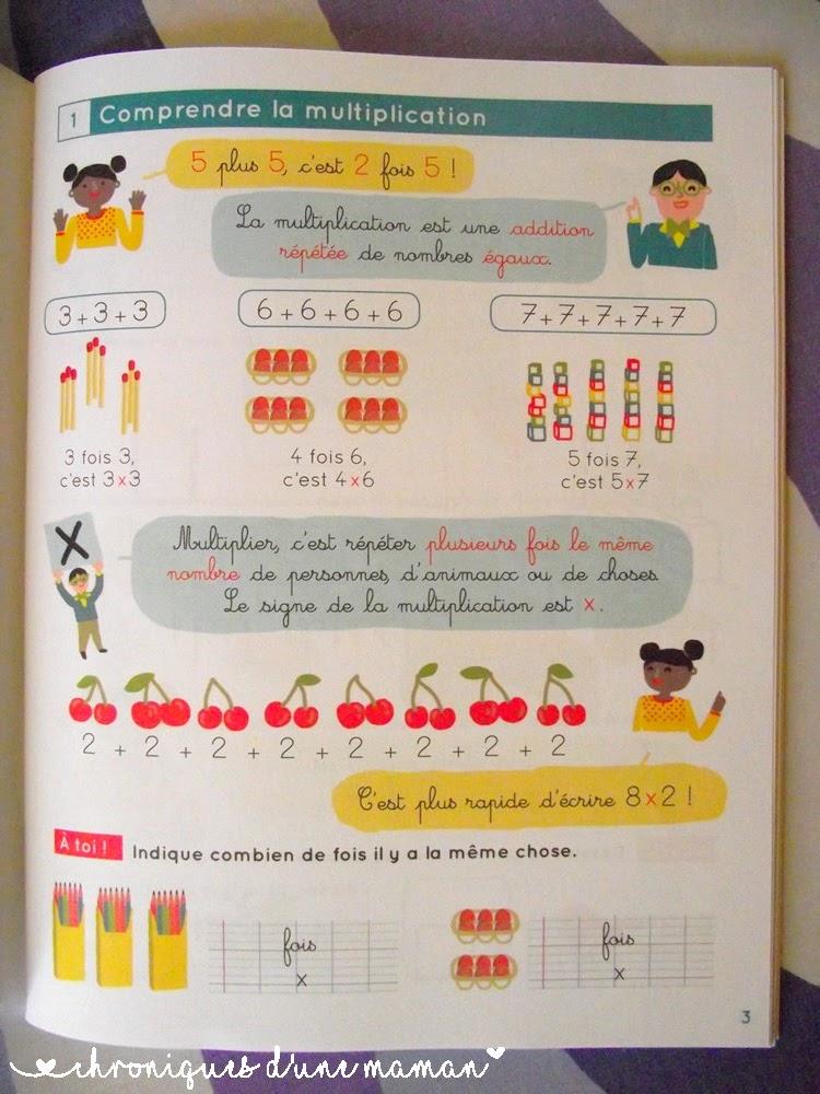 Chroniques d 39 une maman conna tre par coeur ses tables de for Connaitre ses tables de multiplication