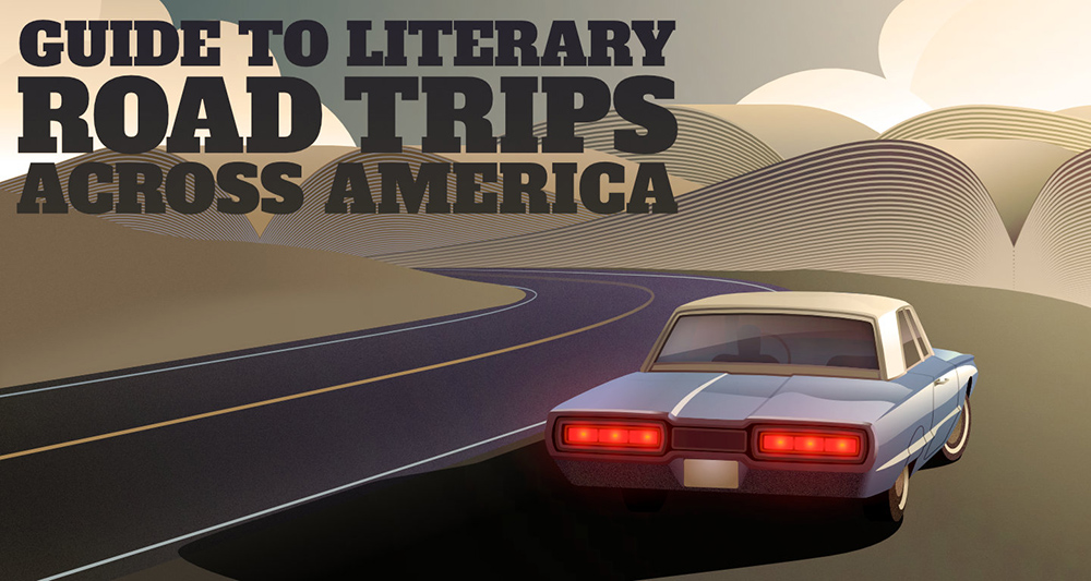 Your Guide to Literary Road Trips Across America #infographic