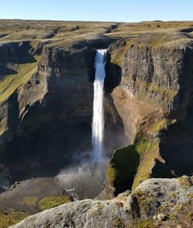 Cascada Háifoss. Islandia, Iceland.