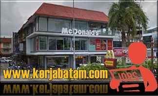Lowongan Kerja Batam McDonald's Batam Harmoni