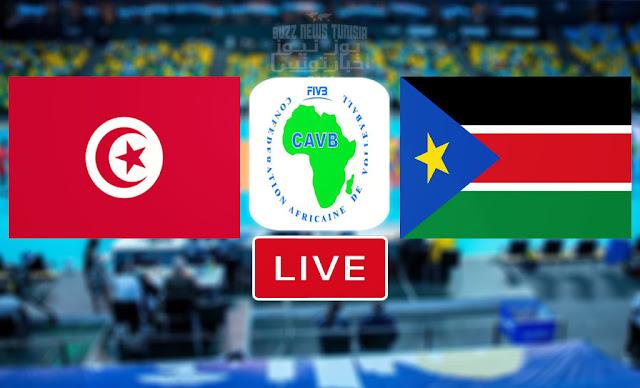 Match En Direct : Tunisie vs Soudan Du Sud en CAVB- Championnat d'Afrique De Volleyball 2021