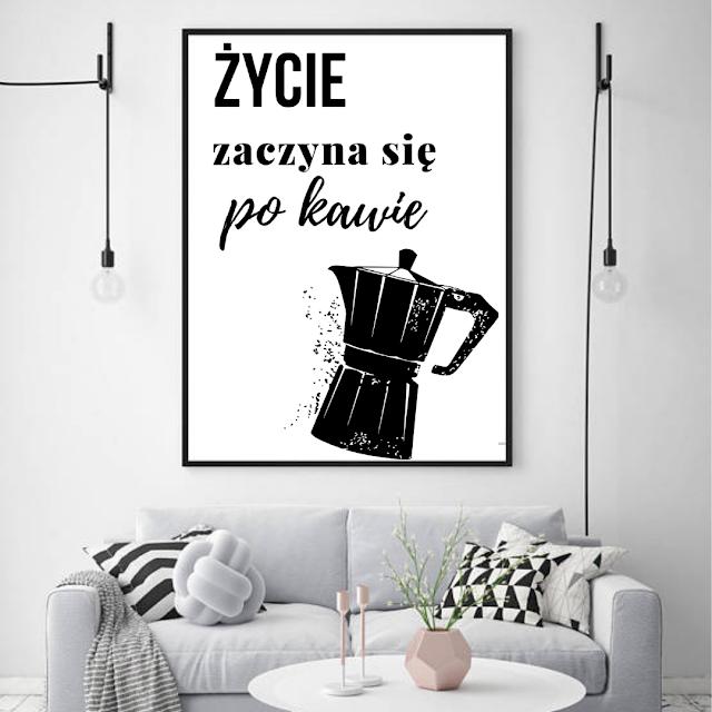 loftowe plakaty z kawą do pobrania